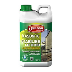 OWATROL SEASONITE Traitement protection bois autoclave (Fendillement/Déformations /Grisaillement)