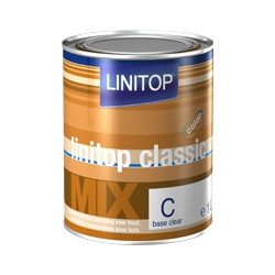 LINITOP CLASSIC MIX lasure bois transparente a colorer protection UV Intempérie haute performance