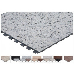 Dalle sol R-Tile Design finition type carrelage magasin, locaux commerciaux trafic intense,  industriels, habitation privée