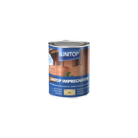LINITOP IMPREGNATION Lasure protection bois incolore / Colorée